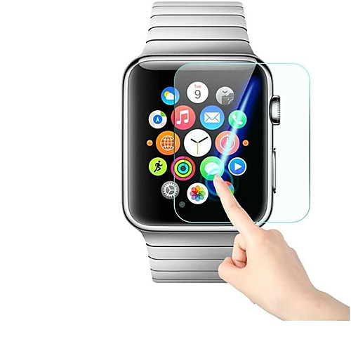 Screen Protector For iWatch 42mm / iWatch 38mm / Apple Watch Series 4 Tempered Glass 9H Hardness / 2.5D Curved edge / Explosion Proof 1 pc