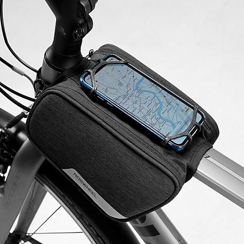 1.5 L Бардачок на раму Водонепроницаемость Компактность Пригодно для носки Велосумка/бардачок 600D полиэстер Велосумка/бардачок Велосумка На открытом воздухе Велоспорт