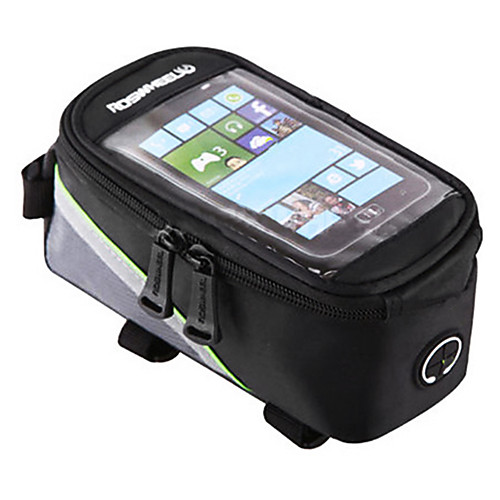 ROSWHEEL Cell Phone Bag Bike Frame Bag Top Tube 4.2/5.5/6.2 inch Touch Screen Reflective Waterproof Cycling for Samsung Galaxy S6 iPhone 5C iPhone 4/4S Red Green Blue Cycling / Bike / iPhone X