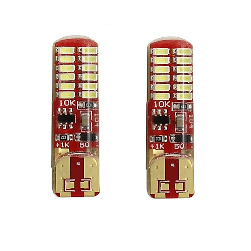 2pcs T10 / W5W Автомобиль Лампы 2 W SMD 3014 250 lm 24 Светодиодная лампа Подсветка для номерного знака / Лампа поворотного сигнала / Задний свет Назначение Универсальный Все года