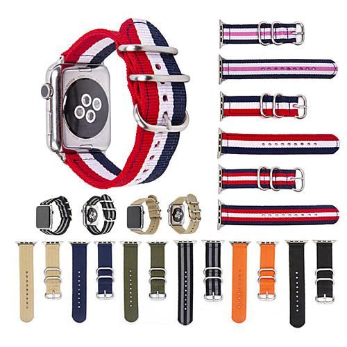 Ремешок для часов для Apple Watch Series 4/3/2/1 Apple Спортивный ремешок Нейлон Повязка на запястье фото