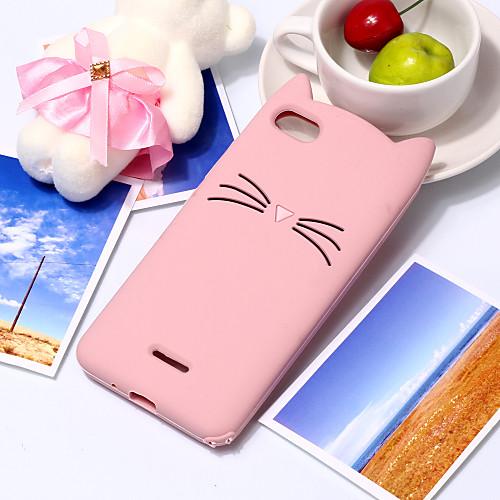 Кейс для Назначение Xiaomi Redmi Note 5 Pro С узором Кейс на заднюю панель Кот / 3D в мультяшном стиле Мягкий ТПУ для Xiaomi Redmi Note 5 Pro / Xiaomi Redmi Note 6 / Redmi 6A