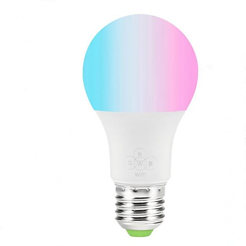 1шт 4.5 W 350 lm E26 / E27 Умная LED лампа 9 Светодиодные бусины SMD 2835 Контроль APP 100-240 V