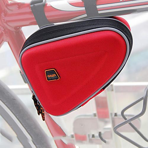 GIYO 1 L Бардачок на раму Компактность Пригодно для носки На открытом воздухе Велосумка/бардачок Оксфорд Велосумка/бардачок Велосумка Велосипедный спорт На открытом воздухе Велоспорт