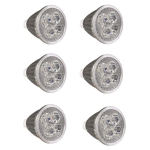 6шт 5 W Точечное LED освещение 500 lm GU10 GU10 5 Светодиодные бусины Высокомощный LED Для вечеринок Декоративная Новогоднее украшение для свадьбы Тёплый белый Холодный белый 85-265 V / RoHs фото