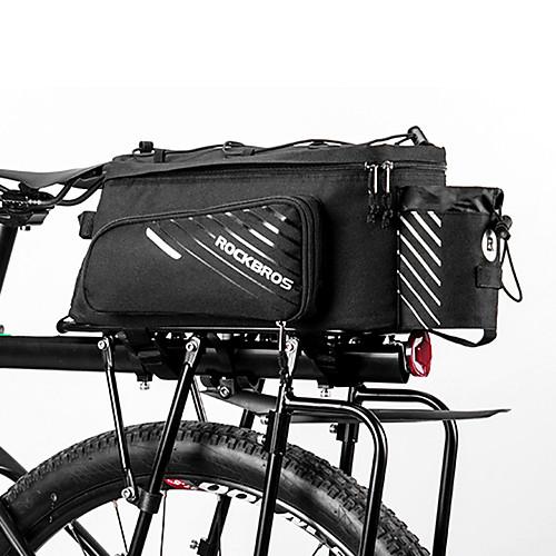 ROCKBROS 9-12 L Сумки на багажник велосипеда Водонепроницаемость Пригодно для носки Велосумка/бардачок Терилен Велосумка/бардачок Велосумка Другие же размера телефоны Велоспорт фото