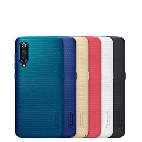 Nillkin Кейс для Назначение Xiaomi Ми 9 / Mi 9 Explorer Защита от удара / Матовое Кейс на заднюю панель Однотонный Твердый ПК для Xiaomi Mi 9 / Xiaomi Mi 9 Explorer