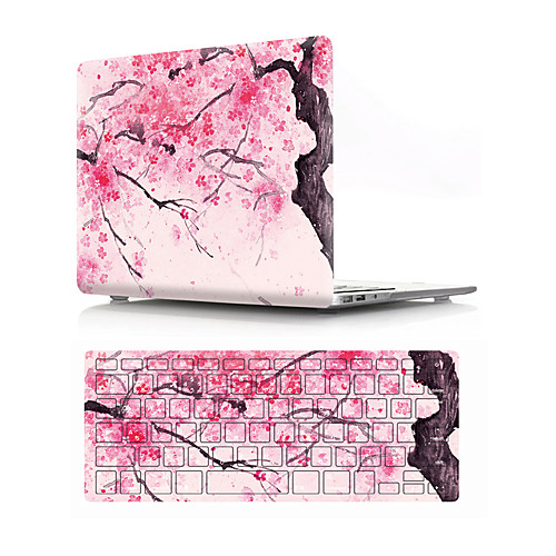 "MacBook Case with Protectors Цветы ПВХ для MacBook Air, 13 дюймов / Новый MacBook Pro 15"""" / New MacBook Air 13"""" 2018"
