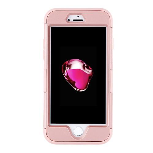 BENTOBEN Кейс для Назначение Apple iPhone 8 / iPhone 7 Защита от удара Чехол Однотонный Твердый Силикон / ПК для iPhone 8 / iPhone 7 фото