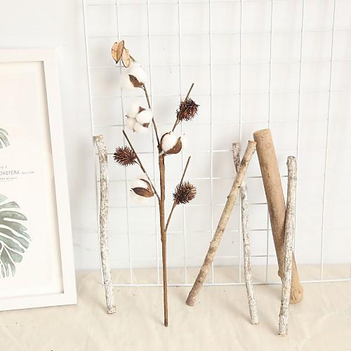 Искусственные Цветы 2 Филиал Классический Современный современный Pастений Букеты на стол