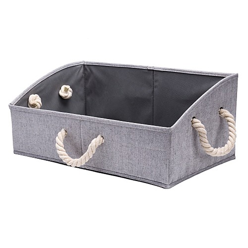 Складные ящики для хранения хлопка веревки нижнее белье корзина для хранения одежды для хранения дома артефакт ящик для хранения игрушек фото
