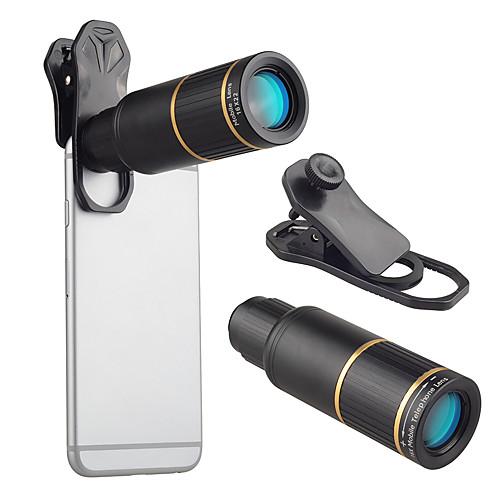 Объектив для мобильного телефона Длиннофокусный объектив стекло / Алюминиевый сплав 10Х и более 32 mm 3 m 9 ° Линза / объектив со стендом