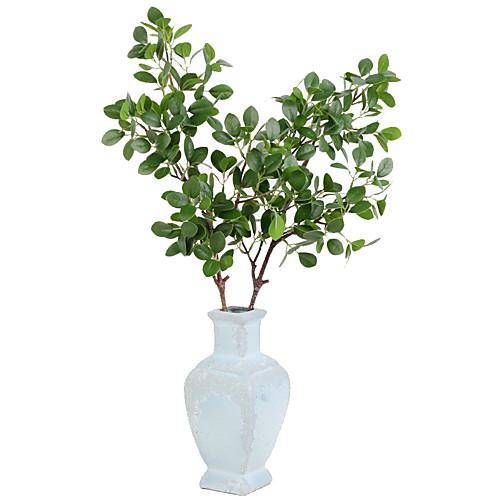 Искусственные Цветы 1 Филиал Классический европейский Простой стиль Pастений Вечные цветы Букеты на стол