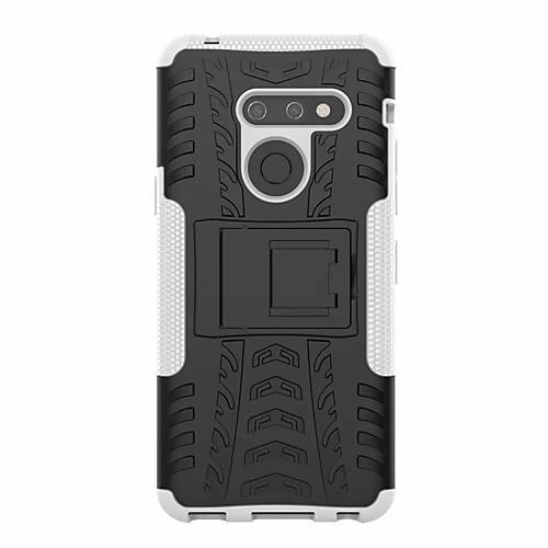 Кейс для Назначение LG LG V50 / LG G8 Защита от удара / со стендом Кейс на заднюю панель броня Твердый пластик для LG V50 / LG G8 фото