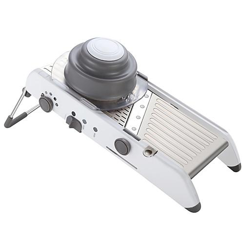 Новые кухонные инструменты 4-х зубчатые регулируемые принадлежности для резки мандолины Многофункциональные ножи для измельчения овощей