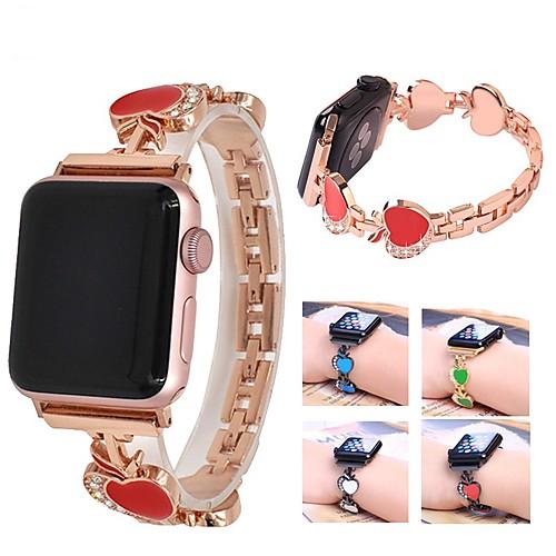 Ремешок для часов для Apple Watch Series 4/3/2/1 Apple Современная застежка Металл / Нержавеющая сталь Повязка на запястье