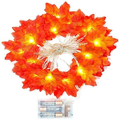 3M Гирлянды 20 светодиоды Тёплый белый Творчество / Для вечеринок / Декоративная Аккумуляторы 1 комплект