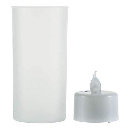 Новинка трясти звук романтический датчик беспламенного удара светодиодная свеча чайная лампа полупрозрачная чашка светодиодная свеча фото