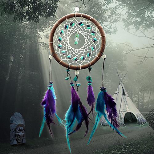 Ловец снов - Перья Богемия 1 pcs Настенные украшения