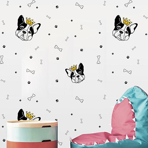 Декоративные наклейки на стены - Простые наклейки Животные / Геометрия Детская фото
