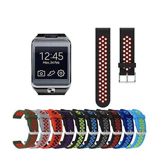 Ремешок для часов для Gear 2 R380 / Gear 2 Neo R381 / Gear Live Samsung Galaxy Спортивный ремешок силиконовый Повязка на запястье фото