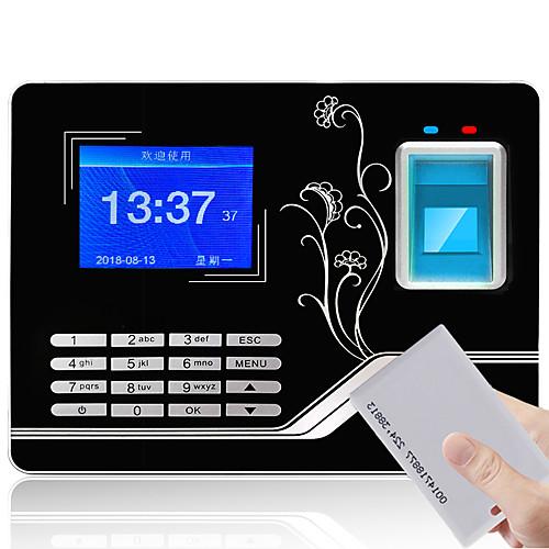 YK&SCAN F20 Посещающая машина Записать запрос отпечаток пальца / пароль / Удостоверение личности Для школы / Гостиница / Офис фото
