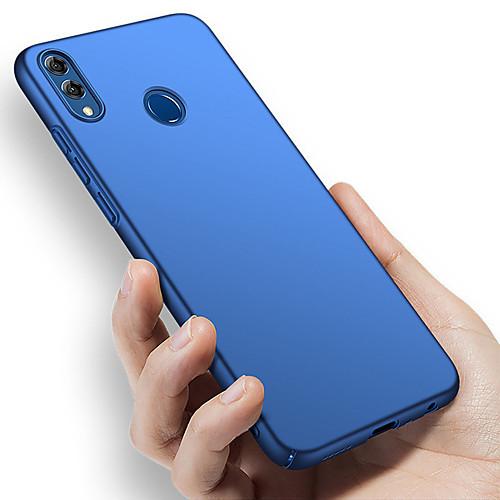 Кейс для Назначение Huawei Huawei Honor 8X / Huawei Honor 8X Max Защита от удара / Ультратонкий / Матовое Чехол Однотонный Твердый ПК для Huawei Note 10 / Huawei Honor 10 / Honor V20 фото