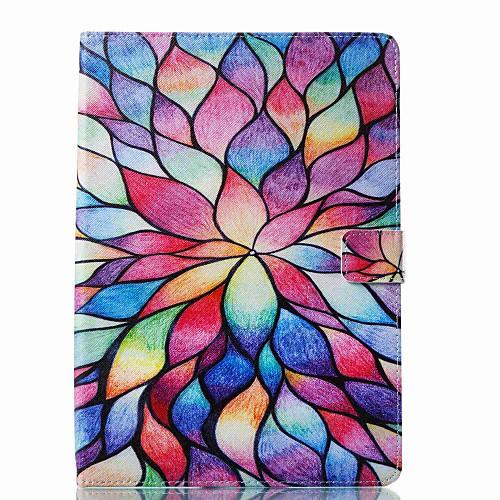 Кейс для Назначение Apple iPad New Air (2019) / iPad Pro 10.5 Бумажник для карт / Флип / С узором Чехол Мультипликация / Цветы Твердый Кожа PU для iPad New Air (2019) / iPad Pro 10.5