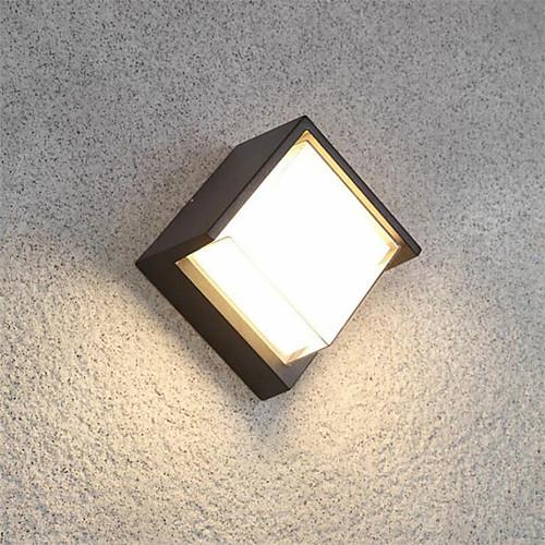 ONDENN Водонепроницаемый / Новый дизайн LED / Современный современный Настенные светильники В помещении / На открытом воздухе Алюминий настенный светильник IP65 85-265V 10 W