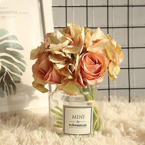 Искусственные Цветы 2 Филиал Классический Современный современный Розы Букеты на стол
