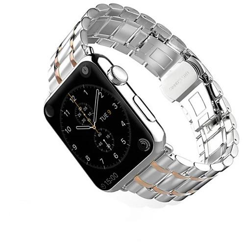 Ремешок для часов для Apple Watch Series 4/3/2/1 Apple Классическая застежка Нержавеющая сталь Повязка на запястье