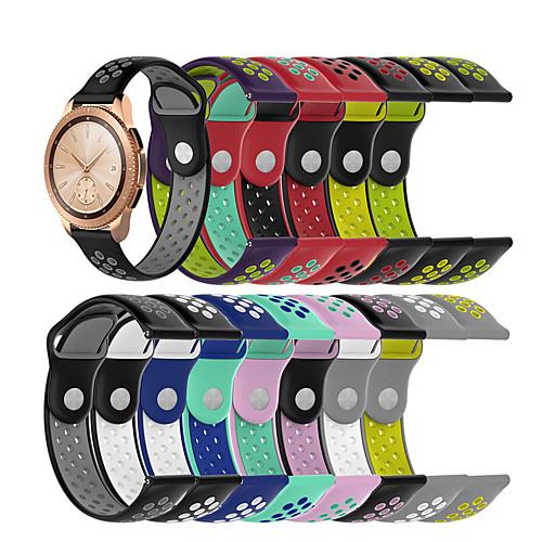 Ремешок для часов для Samsung Galaxy Watch 42 Samsung Galaxy Спортивный ремешок силиконовый Повязка на запястье фото