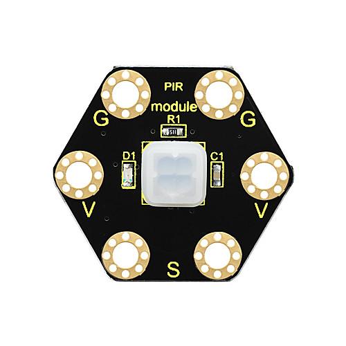 Модуль движения keyestudio pir для BBC Microbit (черный и экологичный) фото