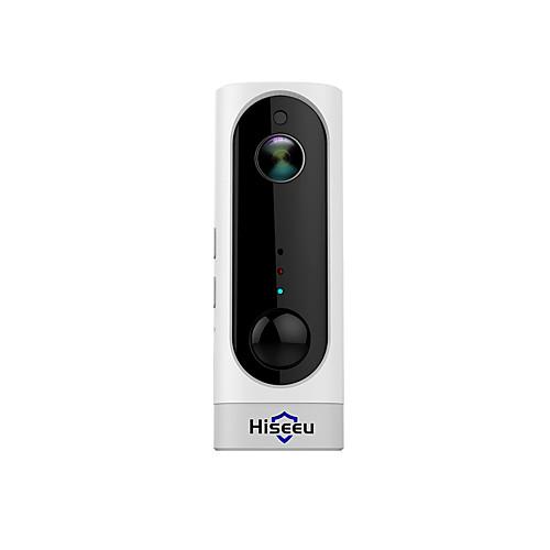 Hiseeu аккумуляторная батарея ip-камера wi-fi крытый домашней безопасности камера беспроводная пир сигнализация движения камеры видеонаблюдения Wi-Fi фото