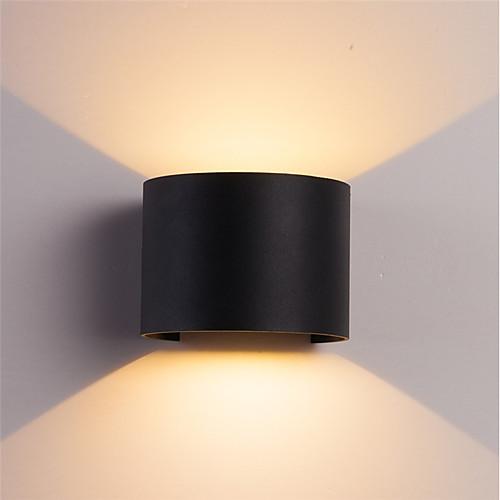 ONDENN Водонепроницаемый / Новый дизайн LED / Современный современный Настенные светильники В помещении / На открытом воздухе Алюминий настенный светильник IP67 85-265V 10 W