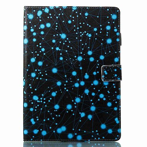Кейс для Назначение Apple iPad New Air (2019) / iPad Pro 10.5 Бумажник для карт / Флип / С узором Чехол Цвет неба / Мультипликация / Черепа Твердый Кожа PU для iPad New Air (2019) / iPad Pro 10.5