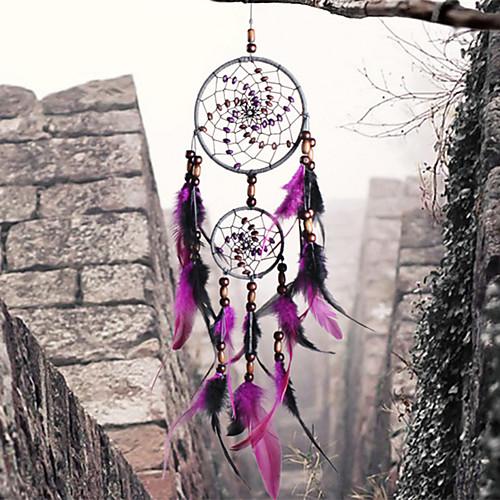 Ловец снов - Перья Богемия 1 pcs Настенные украшения фото