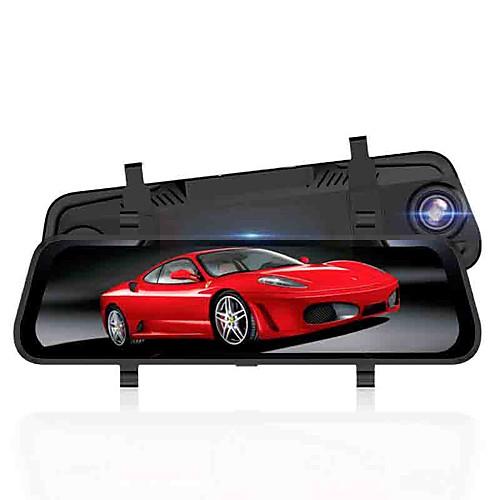 Автомобильный видеорегистратор 1080p / 1296p hd / ночного видения Потоковое зеркало заднего вида 170-градусный широкоугольный 10-дюймовый видеорегистратор с ночным видением / g фото