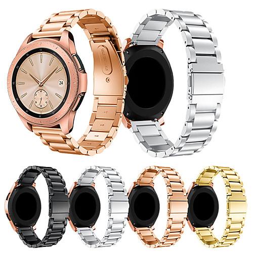 Ремешок для часов для Samsung Galaxy Watch 42 Samsung Galaxy Спортивный ремешок Металл / Нержавеющая сталь Повязка на запястье фото