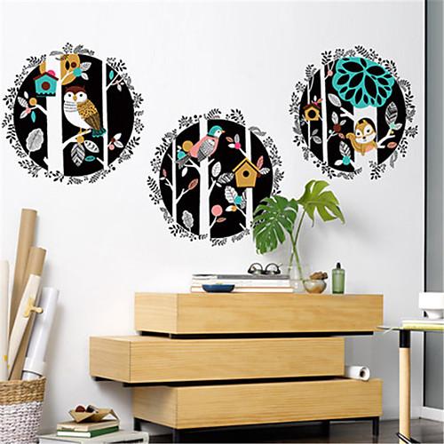 литературная личность ручная роспись украшения животных лес стены стикеры творческая гостиная спальня коридор диван наклейки фон