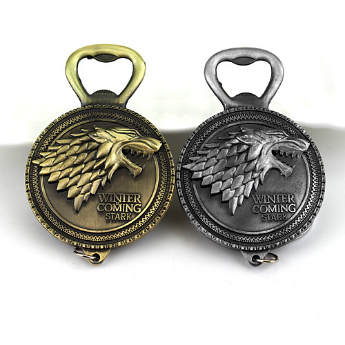 игра престолов дом старк зимней тотем сумка / телефон / брелок брелок creative metal универсальный