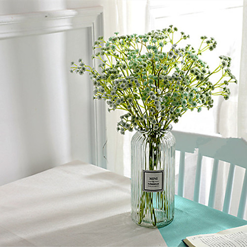 Искусственные Цветы 5 Филиал Классический европейский Простой стиль Перекати-поле Вечные цветы Букеты на стол
