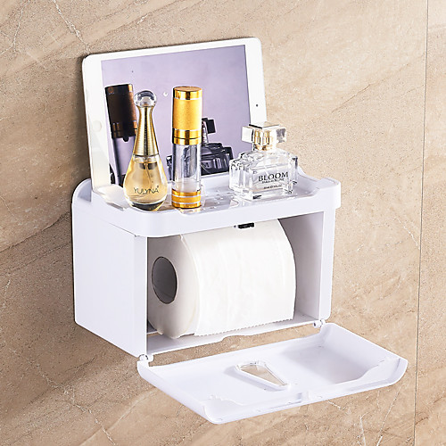Держатель для туалетной бумаги Самоклеющиеся / Креатив / Многофункциональный Modern Пластик 1шт - Ванная комната На стену