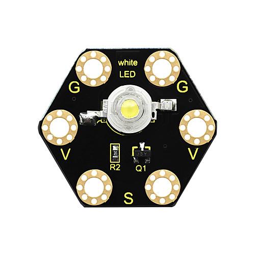 Светодиодный модуль Keyestudio 1 Вт для микробита BBC (черный и экологически чистый) фото