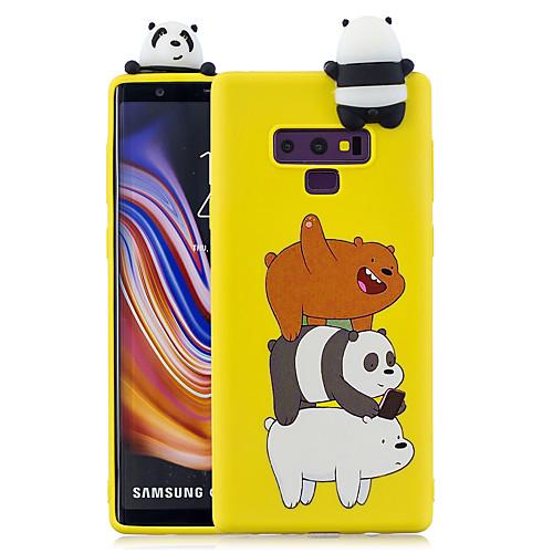 Кейс для Назначение SSamsung Galaxy Note 9 / Note 8 С узором Кейс на заднюю панель Мультипликация Мягкий ТПУ для Note 9 / Note 8 фото