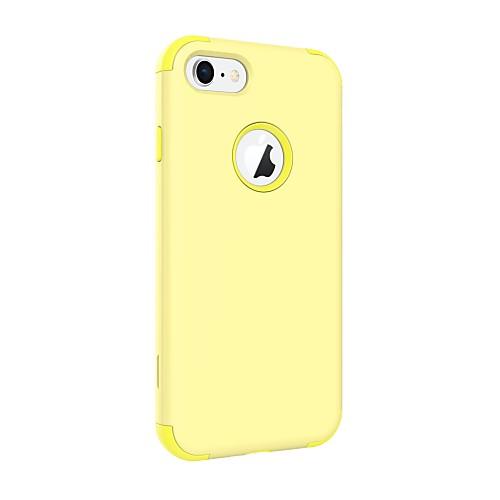 BENTOBEN Кейс для Назначение Apple iPhone 8 / iPhone 7 / iPhone 6s Защита от удара Кейс на заднюю панель Однотонный Твердый ПК / силикагель для iPhone 8 / iPhone 7 фото