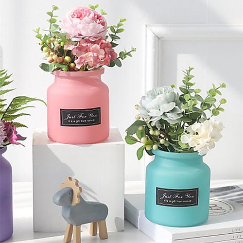 Искусственные Цветы 1 Филиал Классический Современный современный европейский Розы Pастений Фрукты Букеты на стол
