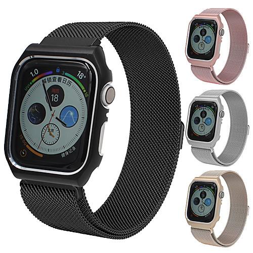 Ремешок для часов для Apple Watch Series 4 Apple Миланский ремешок Металл / Нержавеющая сталь Повязка на запястье