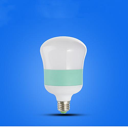 1шт 5 W Круглые LED лампы 210-310 lm E26 / E27 5 Светодиодные бусины Холодный белый 220-240 V фото