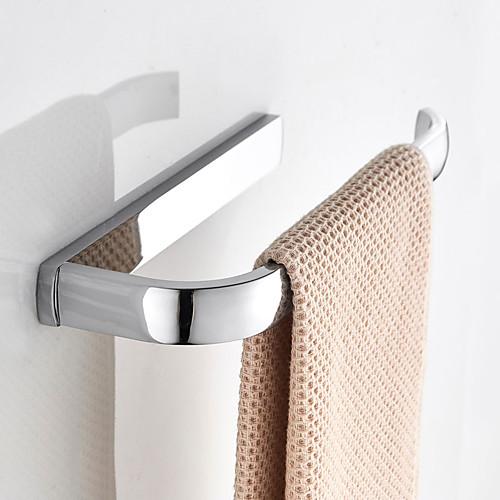 Держатель для полотенец Новый дизайн Современный / Modern Латунь 1шт На стену